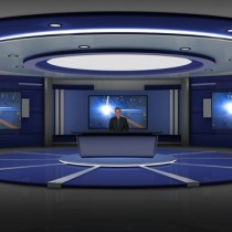 Market Trends Virtual Set