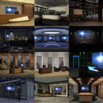 NewTek LiveSet & VSE Pack with 13 Virtual Sets
